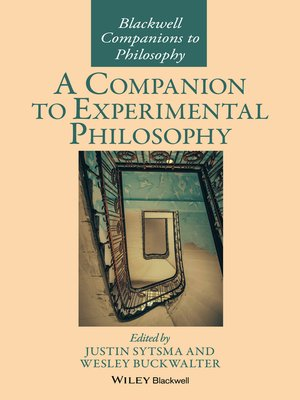 cover image of A Companion to Experimental Philosophy