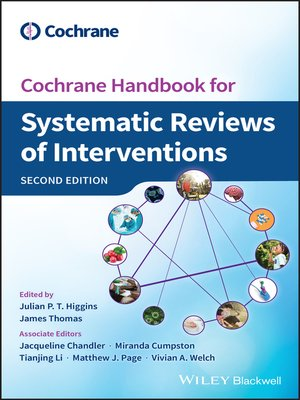 cover image of Cochrane Handbook for Systematic Reviews of Interventions