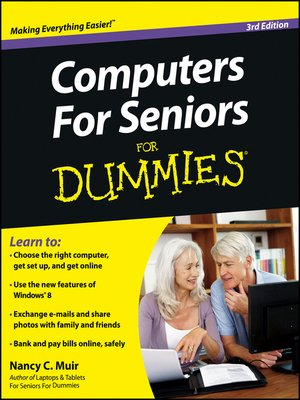 cover image of Computers For Seniors For Dummies