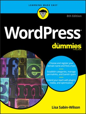 cover image of WordPress For Dummies