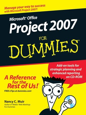 cover image of Microsoft Office Project 2007 For Dummies