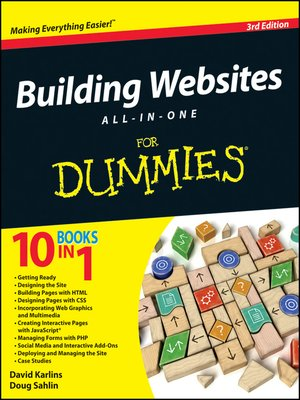 cover image of Building Websites All-in-One For Dummies
