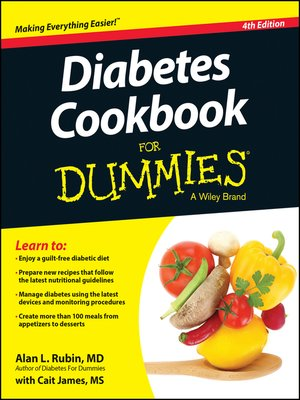 cover image of Diabetes Cookbook For Dummies