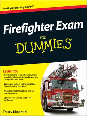 cover image of Firefighter Exam For Dummies