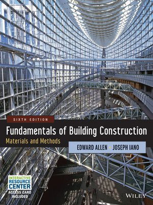 cover image of Fundamentals of Building Construction