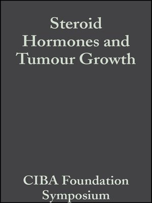 cover image of Steroid Hormones and Tumour Growth