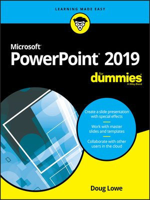 cover image of PowerPoint 2019 For Dummies