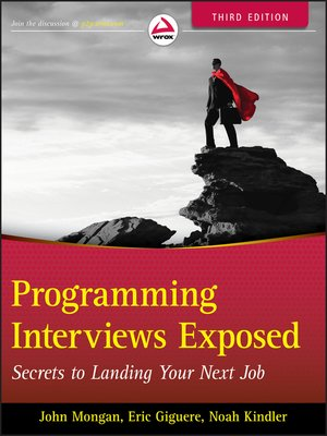cover image of Programming Interviews Exposed