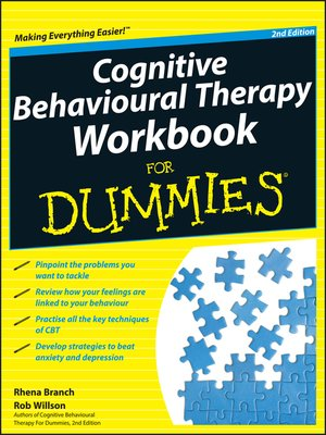 cover image of Cognitive Behavioural Therapy Workbook For Dummies