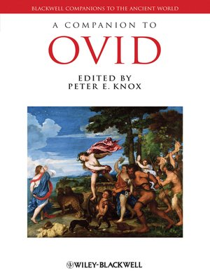 cover image of A Companion to Ovid