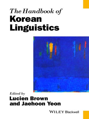 cover image of The Handbook of Korean Linguistics
