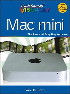 cover image of Teach Yourself VISUALLY Mac Mini