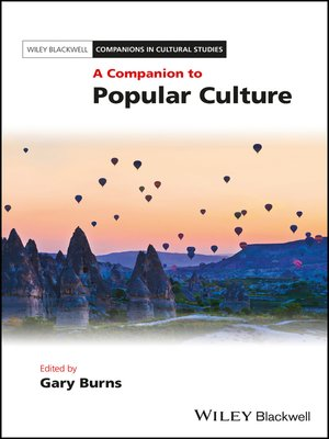 cover image of A Companion to Popular Culture