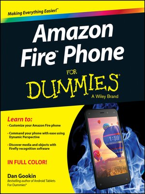 cover image of Amazon Fire Phone For Dummies