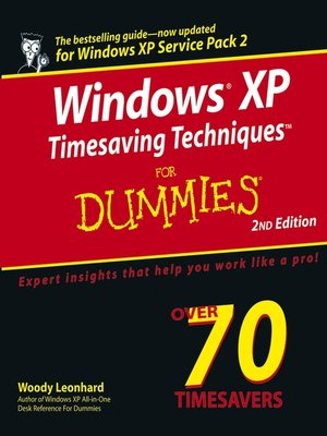 cover image of Windows XP Timesaving Techniques For Dummies