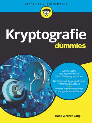 cover image of Kryptografie für Dummies