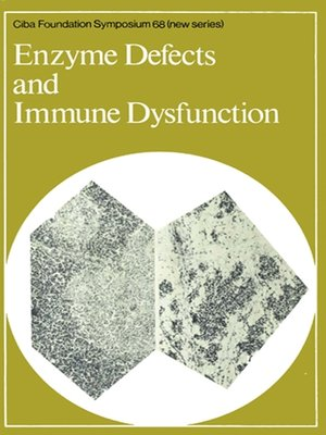 cover image of Enzyme Defects and Immune Dysfunction