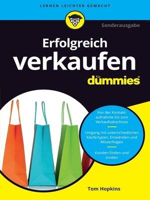 cover image of Erfolgreich verkaufen für Dummies