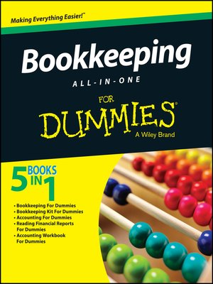 cover image of Bookkeeping All-in-One for Dummies