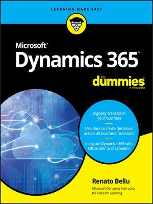 cover image of Microsoft Dynamics 365 For Dummies