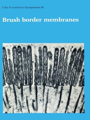 cover image of Brush Border Membranes