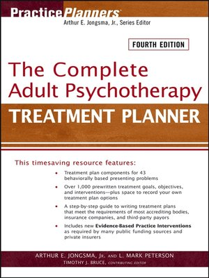 Practiceplannersseries overdrive rakuten overdrive ebooks cover image of the complete adult psychotherapy treatment planner fandeluxe Gallery