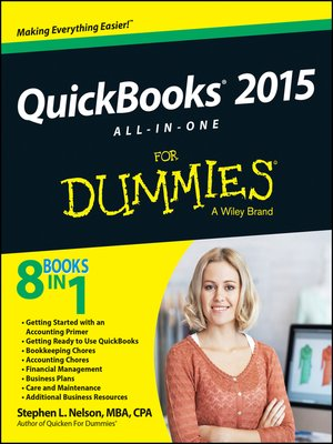 cover image of QuickBooks 2015 All-in-One For Dummies