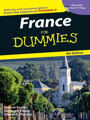 cover image of France For Dummies