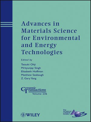cover image of Advances in Materials Science for Environmental and Energy Technologies