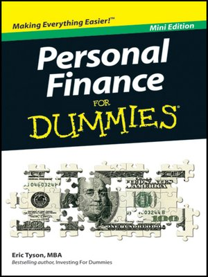 cover image of Personal Finance For Dummies<sup>®</sup>