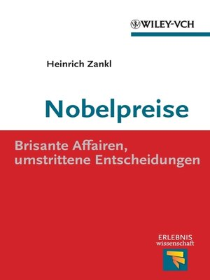 cover image of Nobelpreise