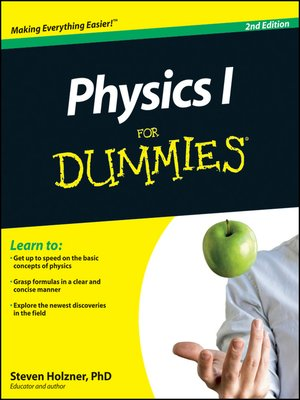 cover image of Physics I For Dummies