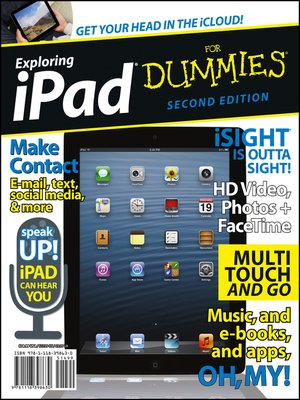 cover image of Exploring iPad For Dummies