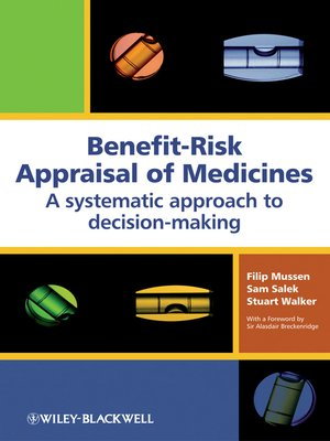 cover image of Benefit-Risk Appraisal of Medicines