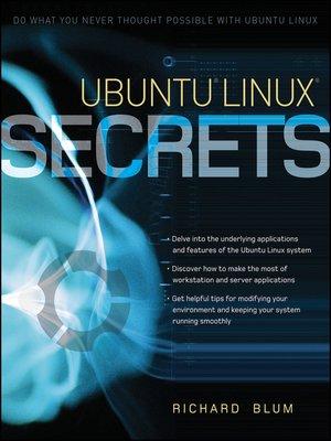 cover image of Ubuntu Linux Secrets