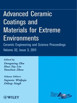 cover image of Advanced Ceramic Coatings and Materials for Extreme Environments