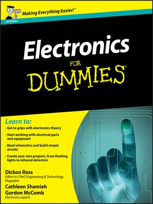 cover image of Electronics For Dummies