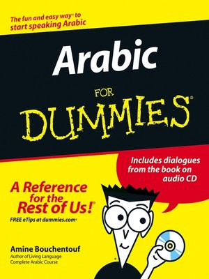 cover image of Arabic For Dummies