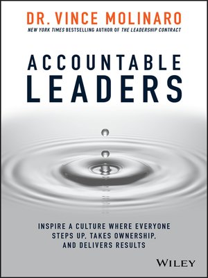 cover image of Accountable Leaders
