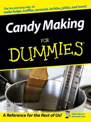 cover image of Candy Making For Dummies