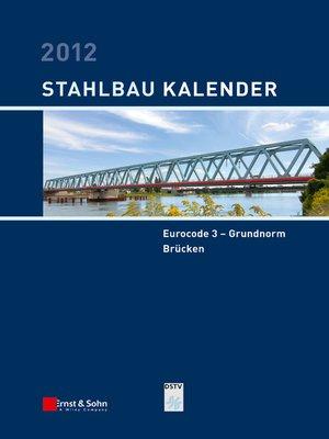 cover image of Stahlbau-Kalender 2012
