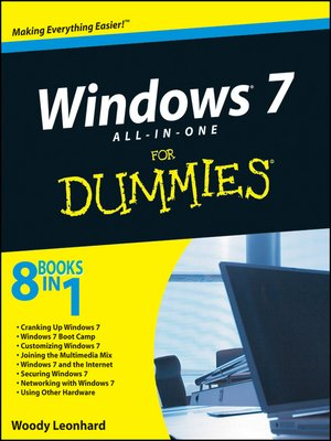 cover image of Windows 7 All-in-One For Dummies