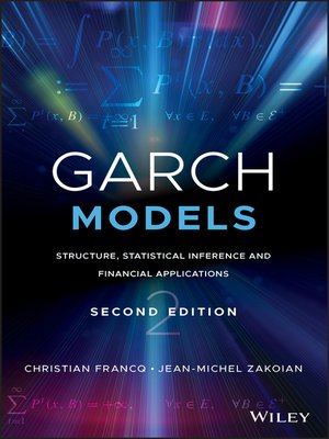 cover image of GARCH Models