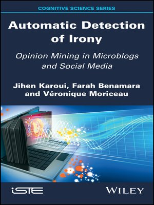 cover image of Automatic Detection of Irony