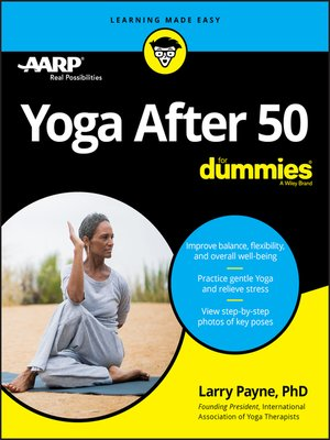 cover image of Yoga After 50 For Dummies