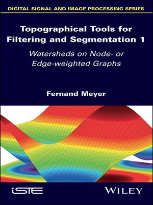 cover image of Topographical Tools for Filtering and Segmentation 1