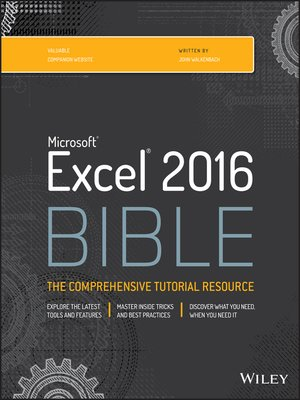 cover image of Excel Bible