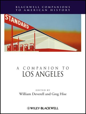 cover image of A Companion to Los Angeles