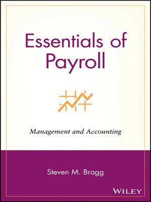 cover image of Essentials of Payroll