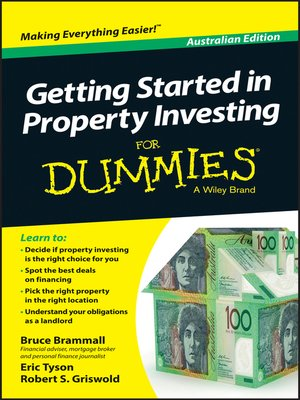 cover image of Getting Started in Property Investment For Dummies